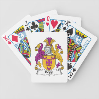 Escudo de la familia de Begg Baraja Cartas De Poker
