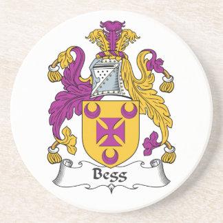 Escudo de la familia de Begg Posavasos Para Bebidas