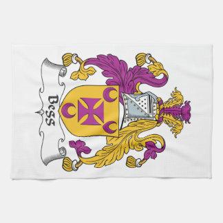 Escudo de la familia de Begg Toallas