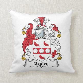 Escudo de la familia de Begley Cojín