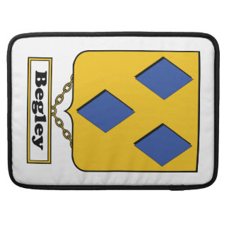 Escudo de la familia de Begley Funda Para Macbook Pro