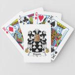 Escudo de la familia de Beguin Baraja Cartas De Poker