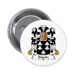 Escudo de la familia de Beguin Pins