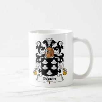 Escudo de la familia de Beguin Taza Clásica