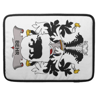Escudo de la familia de Behr Funda Para Macbook Pro