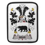 Escudo de la familia de Behr Mangas De iPad