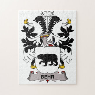 Escudo de la familia de Behr Rompecabeza