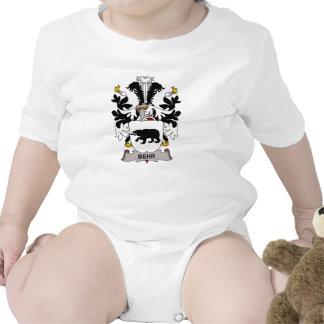 Escudo de la familia de Behr Trajes De Bebé