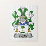 Escudo de la familia de Beirne Rompecabezas