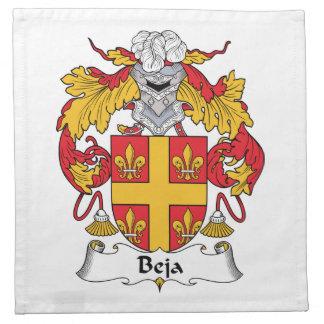 Escudo de la familia de Beja Servilletas