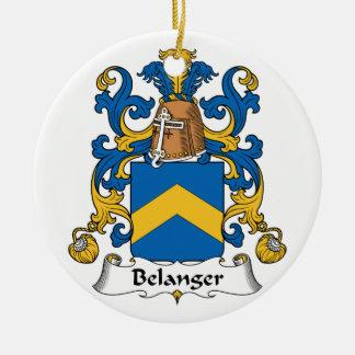 Escudo de la familia de Belanger Ornamentos De Reyes Magos