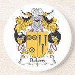 Escudo de la familia de Belem Posavasos Cerveza