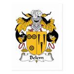 Escudo de la familia de Belem Postal