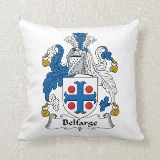 Escudo de la familia de Belfarge Cojín