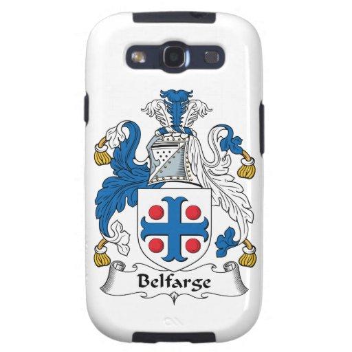 Escudo de la familia de Belfarge Samsung Galaxy S3 Fundas