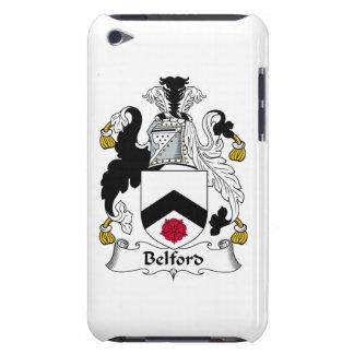Escudo de la familia de Belford iPod Touch Carcasas