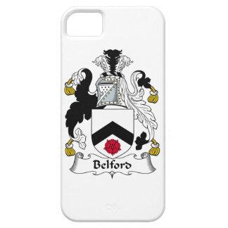 Escudo de la familia de Belford iPhone 5 Protectores