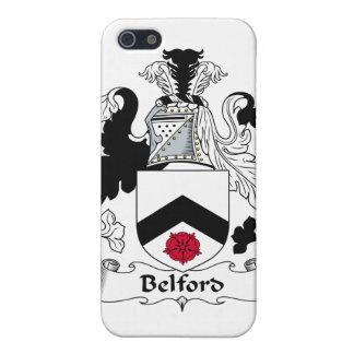 Escudo de la familia de Belford iPhone 5 Coberturas