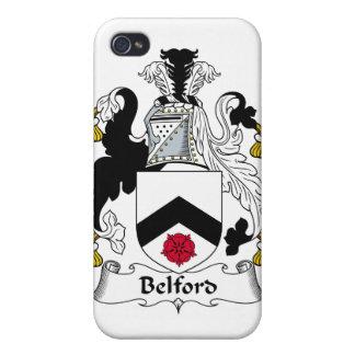 Escudo de la familia de Belford iPhone 4 Protector