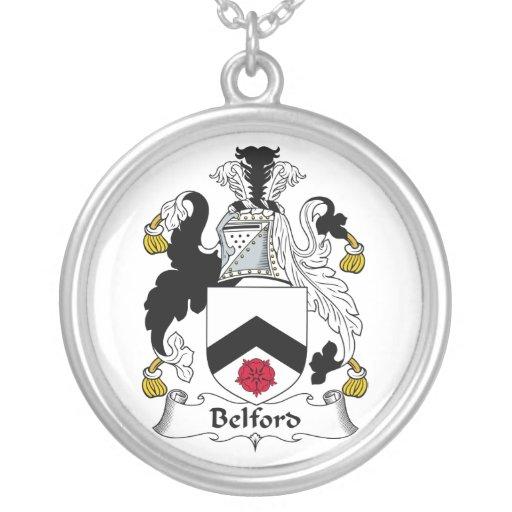 Escudo de la familia de Belford Pendiente