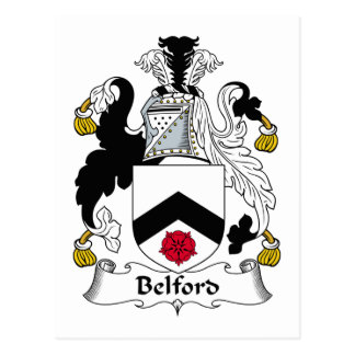 Escudo de la familia de Belford Postal