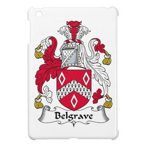 Escudo de la familia de Belgrave iPad Mini Carcasa