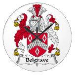 Escudo de la familia de Belgrave Relojes