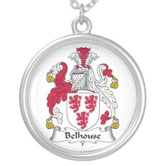 Escudo de la familia de Belhouse Colgante Redondo