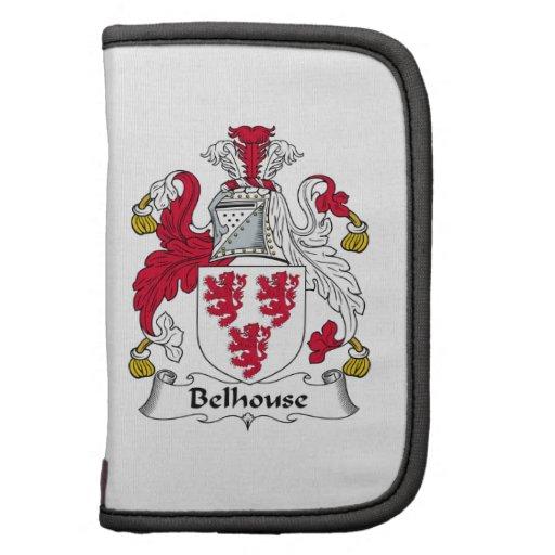 Escudo de la familia de Belhouse Organizadores