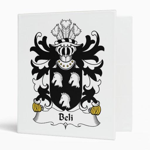 Escudo de la familia de Beli