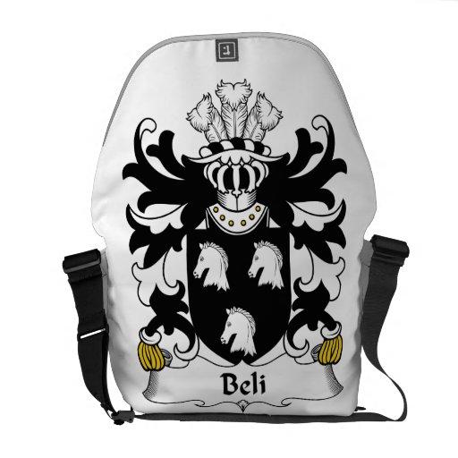 Escudo de la familia de Beli Bolsa Messenger