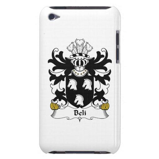 Escudo de la familia de Beli iPod Touch Case-Mate Carcasas