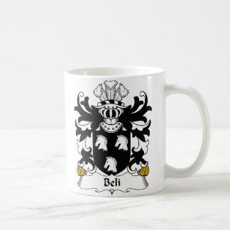 Escudo de la familia de Beli Taza Clásica