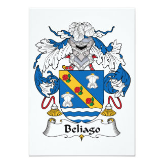Escudo de la familia de Beliago Anuncio Personalizado