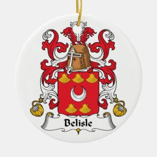 Escudo de la familia de Belisle Ornatos