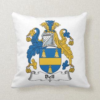 Escudo de la familia de Bell Cojín