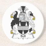 Escudo de la familia de Bell Posavasos Manualidades