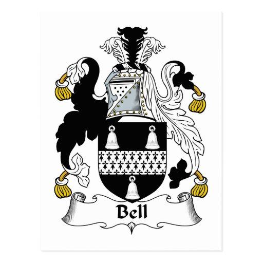 Escudo de la familia de Bell Postal