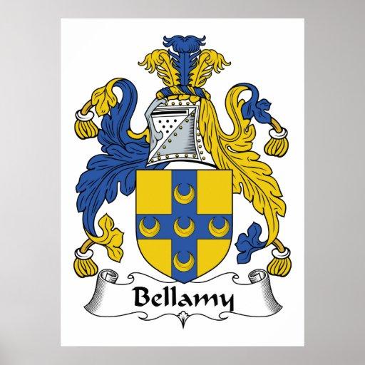 Escudo de la familia de Bellamy Impresiones
