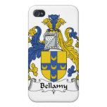 Escudo de la familia de Bellamy iPhone 4 Fundas