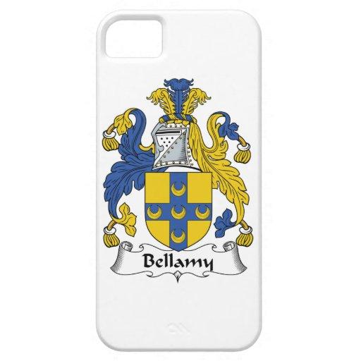 Escudo de la familia de Bellamy iPhone 5 Protector