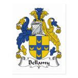 Escudo de la familia de Bellamy Postal
