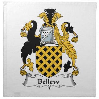 Escudo de la familia de Bellew Servilleta