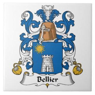 Escudo de la familia de Bellier Azulejos