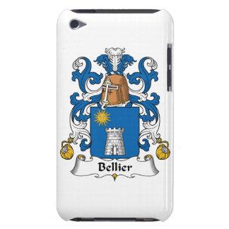 Escudo de la familia de Bellier Barely There iPod Carcasas