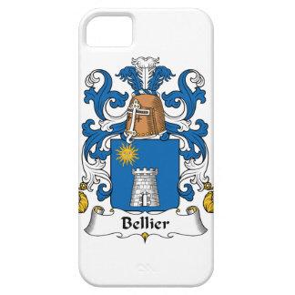 Escudo de la familia de Bellier iPhone 5 Carcasa