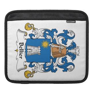 Escudo de la familia de Bellier Mangas De iPad