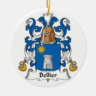 Escudo de la familia de Bellier Ornamente De Reyes