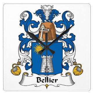 Escudo de la familia de Bellier Relojes