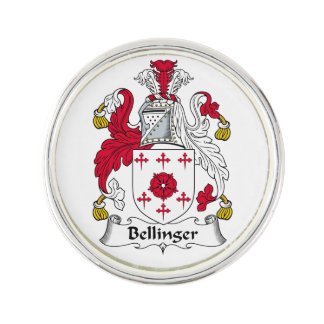 Escudo de la familia de Bellinger Pin